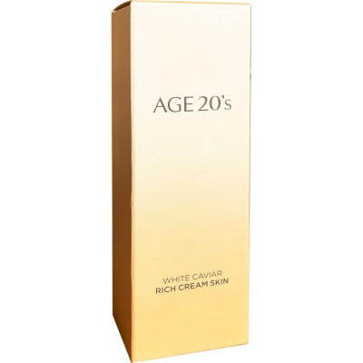 Age 20s White Caviar Rich Cream Skin Anti Aging