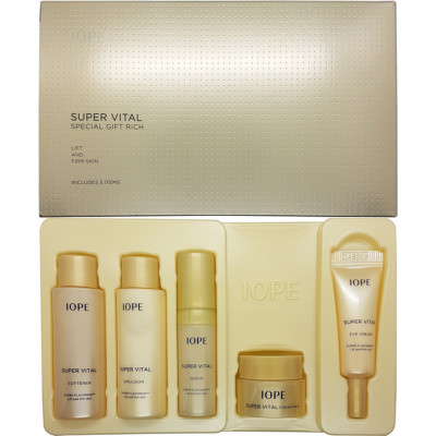 Iope Super Vital Cream VIP Special Gift (5items) Витаминный подарочный набор
