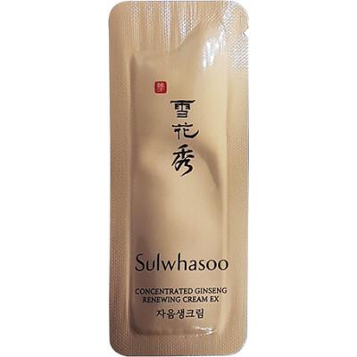 пробник Sulwhasoo Concentrated Ginseng Renewing Cream EX