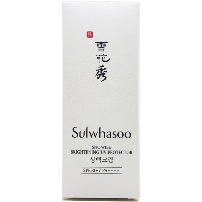 Sulwhasoo Коригувальний сонцезахисний крем SPF50 + / PA ++++