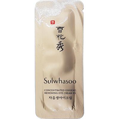 пробник Sulwhasoo Concentrated Ginseng Reneving Eye Cream 1мл