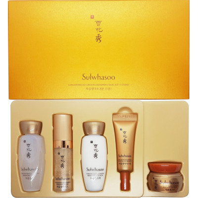 Sulwhasoo Concentrated Ginseng Renewing Basic Kit (5items)