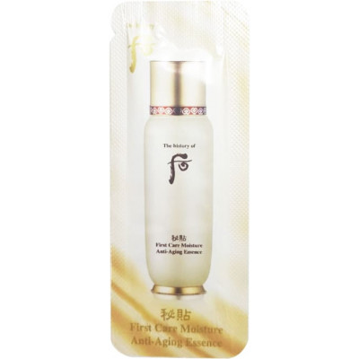 The History of Whoo First Care Moisture Anti-aging Essence 1мл