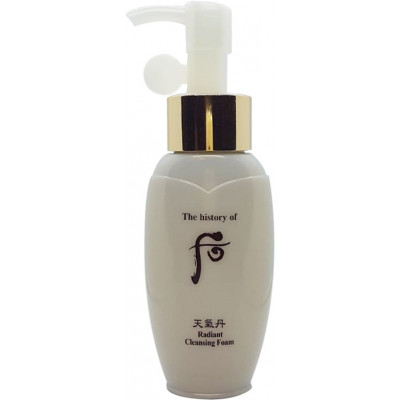 The History of Whoo Cheongidan Radiant Cleansing Foam